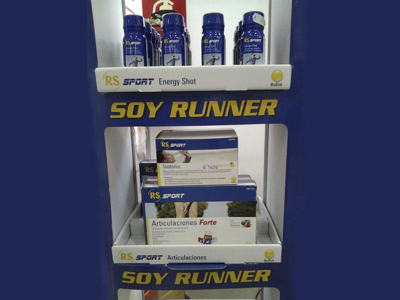 Ofertas en complementos alimenticios Soy Runner