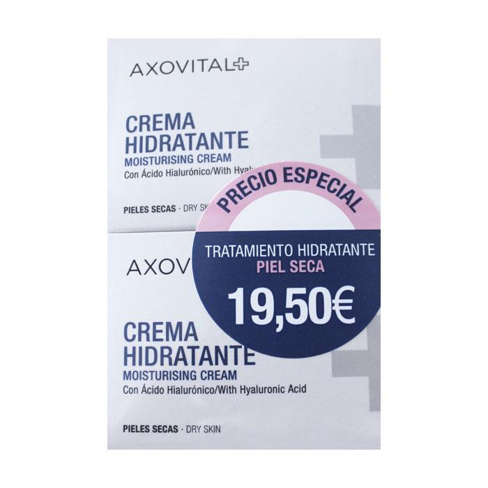 5c8a19915 Axovital Pack Crema Hidratante Piel Seca 50ml + 50ml   Farmacia ...